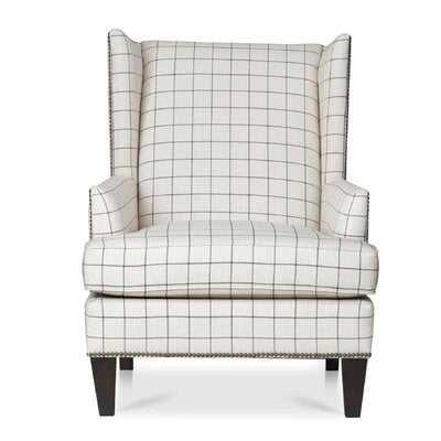 "Helladius 23"" Wingback Chair - Birch Lane"