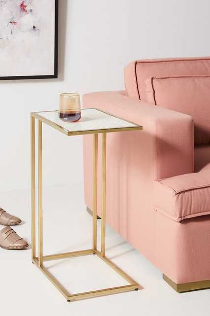 Charlize C-Shaped Side Table - Anthropologie