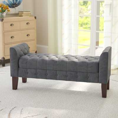 Caplan Upholstered Storage Bench - Wayfair