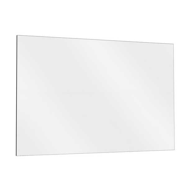 36 in. x 72 in. Single Activity Frameless Large Mirror Kit for Gym and Dance with Safety Backing - Home Depot