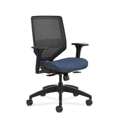 Solve Mid-Back Mesh Desk Chair - Wayfair