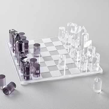 Acrylic Chess - West Elm