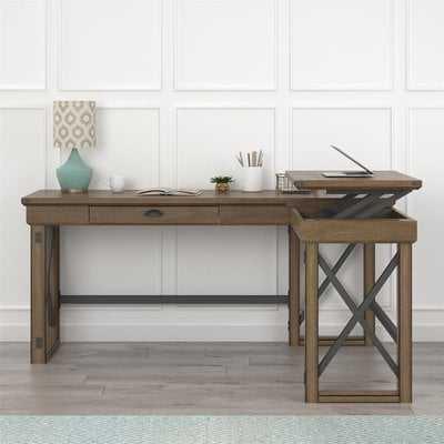 Gladstone L-Shape Standing Desk - Wayfair