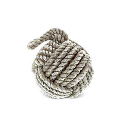 Zephyr Nautical Ornament Monkey Fist Sailor Knot Hemp Rope - Wayfair