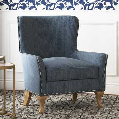 Zubair Wingback Armchair - Birch Lane