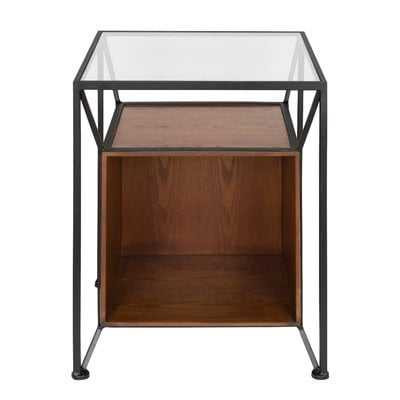Goodspeed Record Storage End Table - AllModern