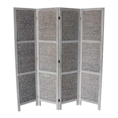 Chelmsford 4 Panel Room Divider - Wayfair