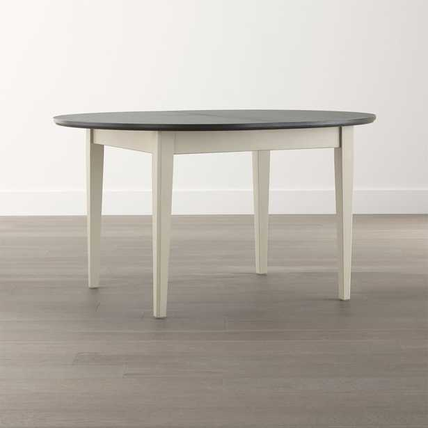 Pranzo II Vamelie Oval Extension Dining Table - Crate and Barrel