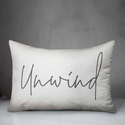 Garrity Unwind Indoor/Outdoor Lumbar Pillow - Wayfair