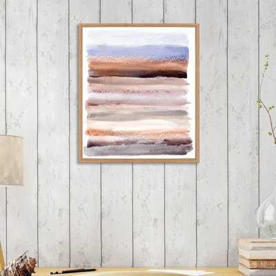 'Lares Desert' Framed Graphic Art Print - Wayfair