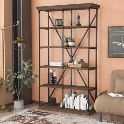 Borgata Etagere Bookcase - Wayfair