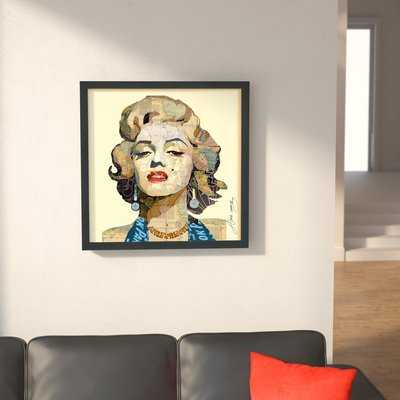 'Homage to Marilyn' Graphic Art Print - Wayfair