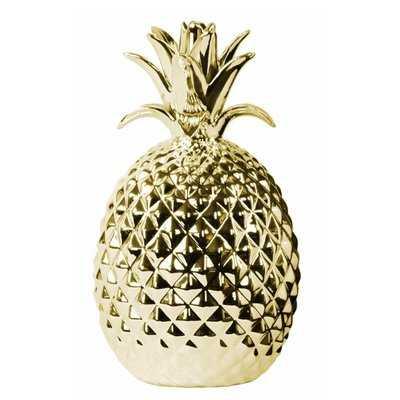 Hidalgo Porcelain Pineapple Figurine - Wayfair