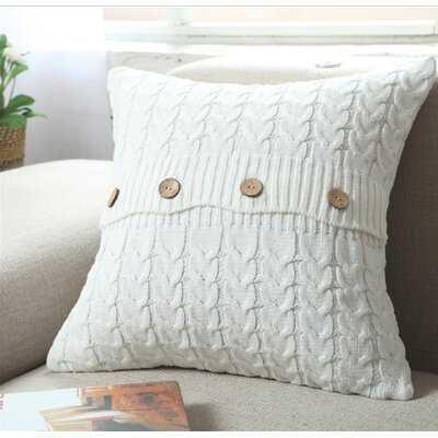 Bamburgh Cotton Throw Pillow Cover - Wayfair