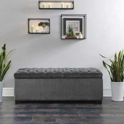 Mabel Shoe Upholstered Storage Bench - Wayfair