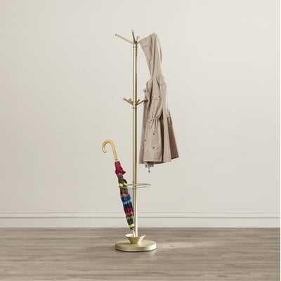Ridlon Metal Coat Rack with Umbrella Stand - Wayfair