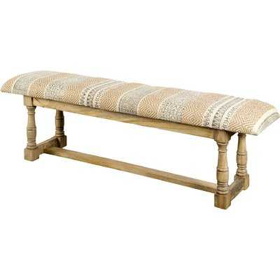 Balentine Upholstered Bench - Wayfair