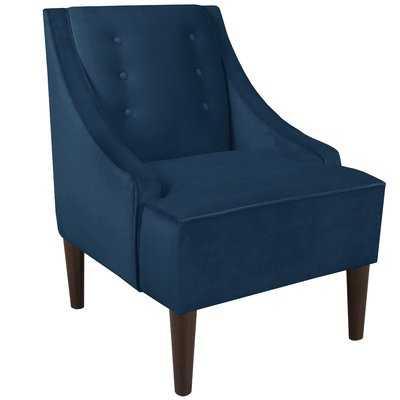 Armchair, Navy - Wayfair