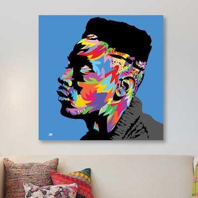 'Big Daddy Kane' Technodrome1 Framed Graphic Art Print on Canvas - Wayfair