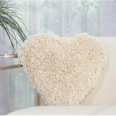 Gravesend Heart Throw Pillow - Wayfair
