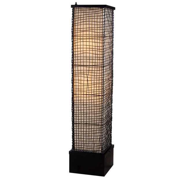 Kenroy Home Trellis 51 in. Bronze Outdoor Floor Lamp - Home Depot