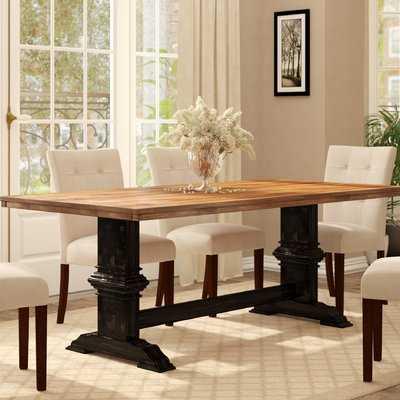 Callisburg Solid Wood Dining Table - Wayfair