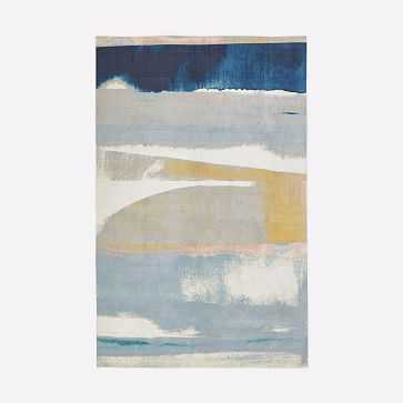 Sunkissed Landscape Rug Light Pool, 5'x8' - West Elm
