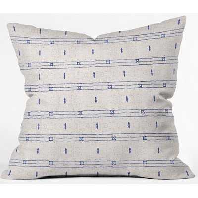 Indoor/Outdoor Striped Throw Pillow - AllModern