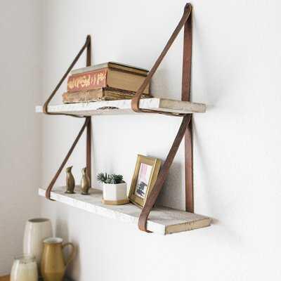Littleton Hanging 2 Piece Wall Shelf Set - Birch Lane