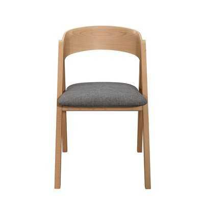 Noonkester Upholstered Dining Chair (Set of 2) - Wayfair