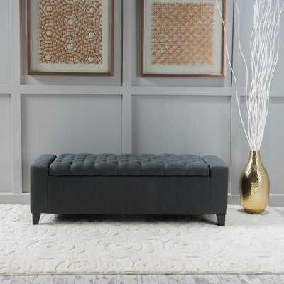 Ilchester Upholstered Storage Bench - Wayfair