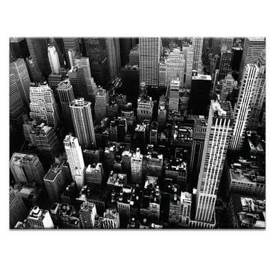 """'NY Streets' Photographic Print, Wrapped Canvas 30"""" x 40"""" - Wayfair"""