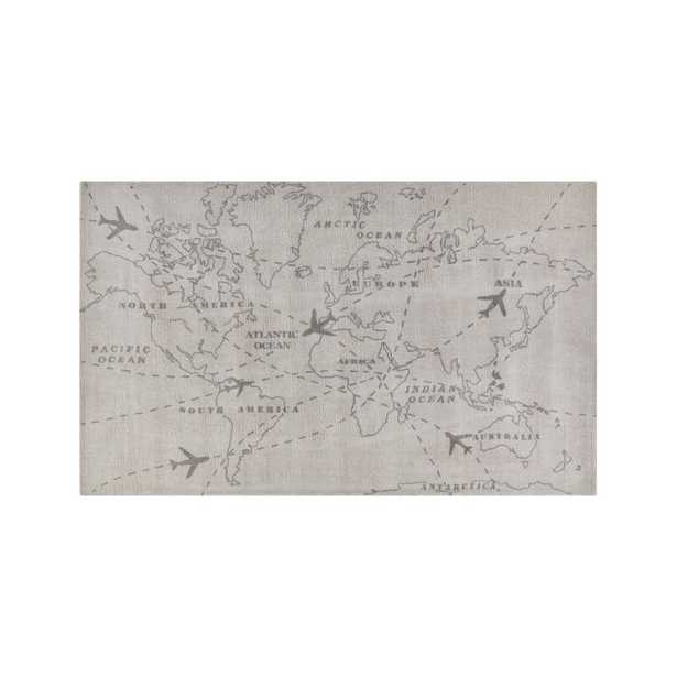 Map Rug 8'x10' - Crate and Barrel