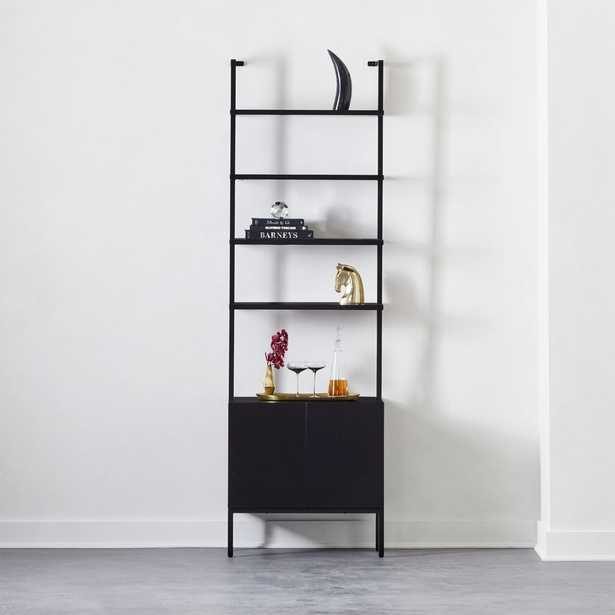 "Stairway Black Cabinet 96"" - CB2"