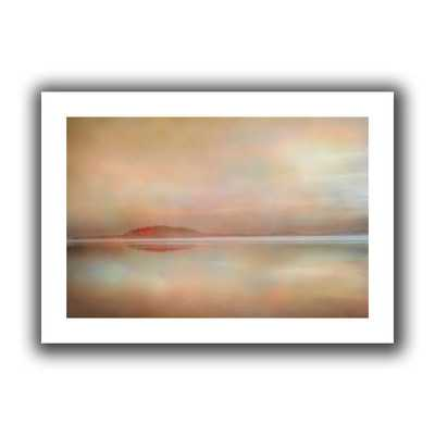 Landscape Sunset' by Cora Niele  Painting Print on Rolled Canvas - Wayfair