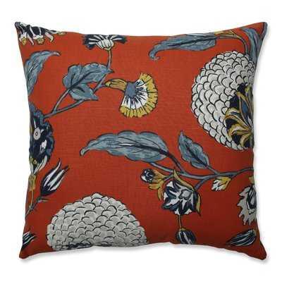 Septak Auretta Persimmon Throw Pillow - Wayfair
