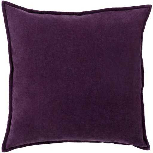"Cotton Velvet Pillow CV-006 - 20"" x 20"" pillow cover - Neva Home"