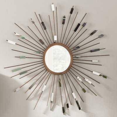 Orion Starburst Wall Mirror - Wayfair