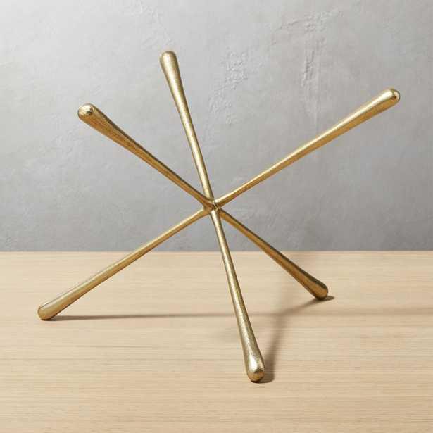 Adra Large Brass Decorative Object - CB2