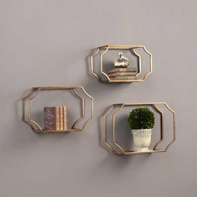 Vansickle 3 Piece Wall Shelf Set - AllModern