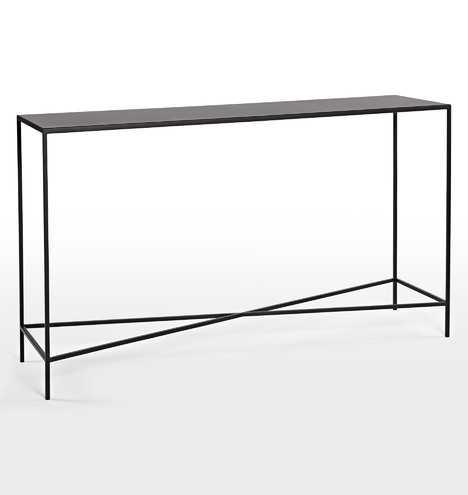 Burton Metal Console Table - Rejuvenation