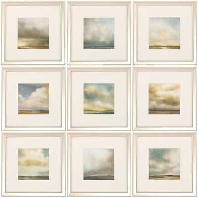 'Atmosphere' 9 Piece Picture Frame Print Set - Birch Lane