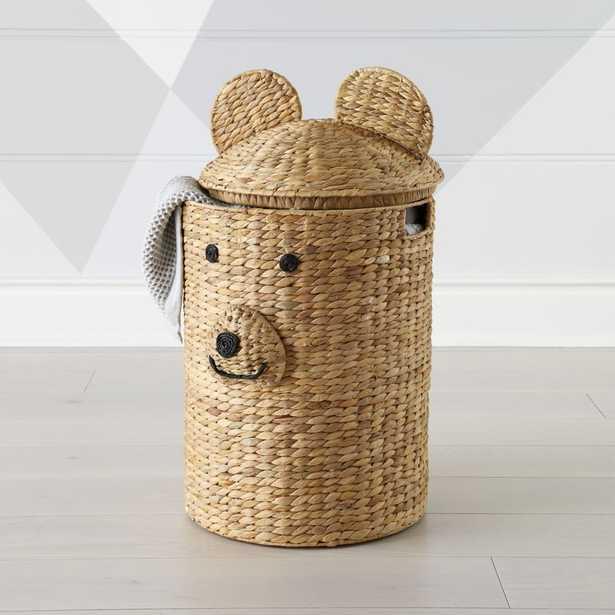 Bear Hamper - Crate and Barrel