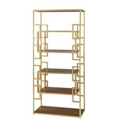 Nebraska Etagere Bookcase - Wayfair
