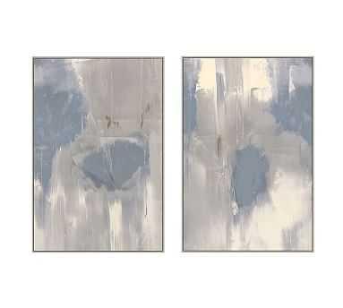 "Misted Framed Canvas, Set of 2, 33"" x 49"" - Pottery Barn"