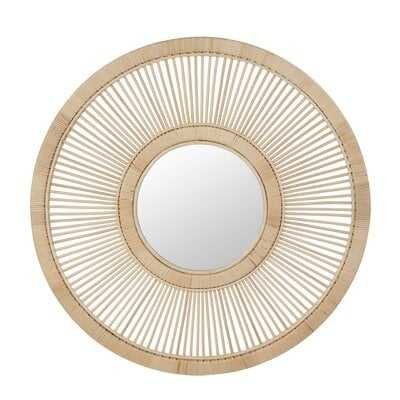 Mcelwain Spoke Wheel Coastal Accent Mirror - Wayfair