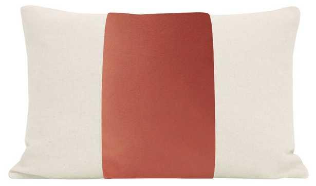 "The Little Lumbar :: PANEL Classic Velvet // Coral - 12"" X 18"" - Little Design Company"