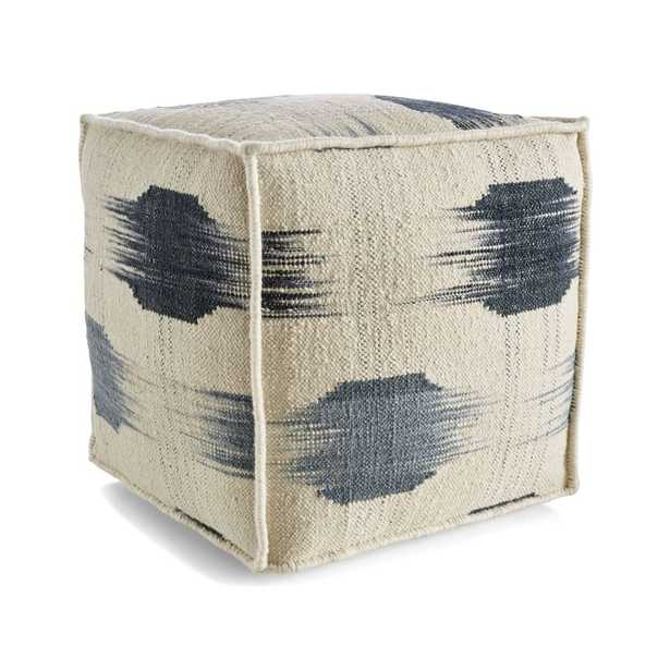 """Shiomi 18""""x18"""" Pouf - Crate and Barrel"""