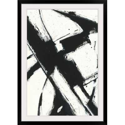 'Expression Abstract I White' by Shirley Novak Painting Print - Wayfair