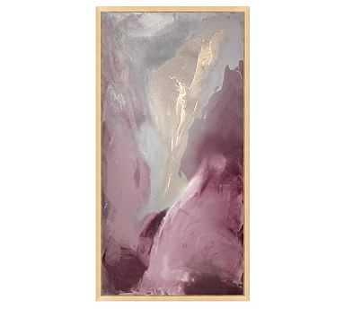 """Amethyst Dream Canvas, 22 x 42"""" - Pottery Barn"""